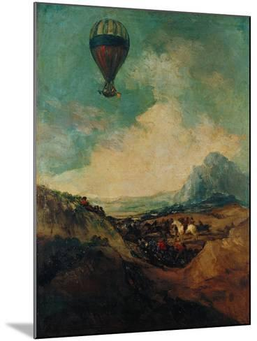 The Balloon, or the Rising of the Montgolfiere-Suzanne Valadon-Mounted Giclee Print