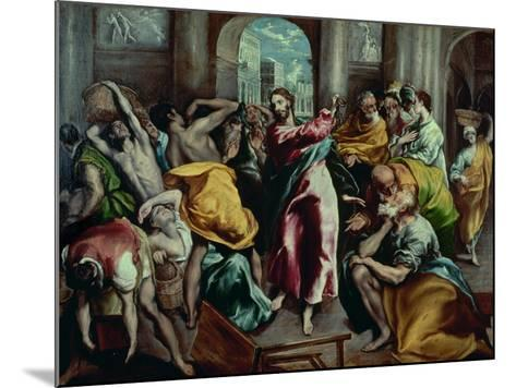 Christ Driving the Moneylenders from the Temple, 1600-El Greco-Mounted Giclee Print
