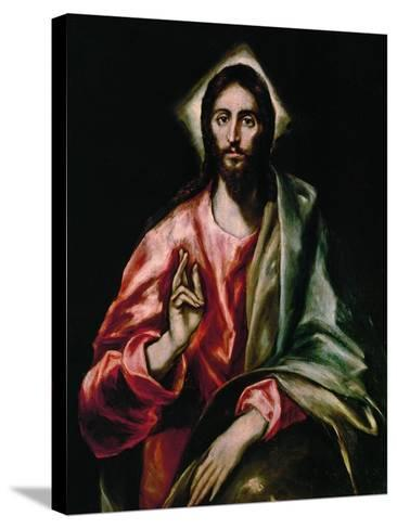 Christ Redeemer, 1610-1614-El Greco-Stretched Canvas Print