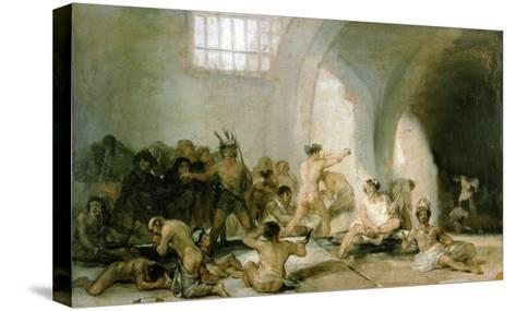 Lunatic Asylum-Suzanne Valadon-Stretched Canvas Print