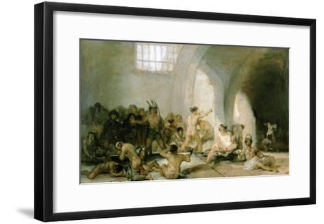 Lunatic Asylum-Suzanne Valadon-Framed Art Print