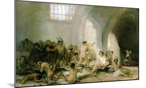 Lunatic Asylum-Suzanne Valadon-Mounted Giclee Print