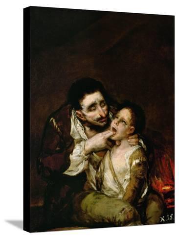 El Lazarillo De Tormes, 1808-1810-Suzanne Valadon-Stretched Canvas Print
