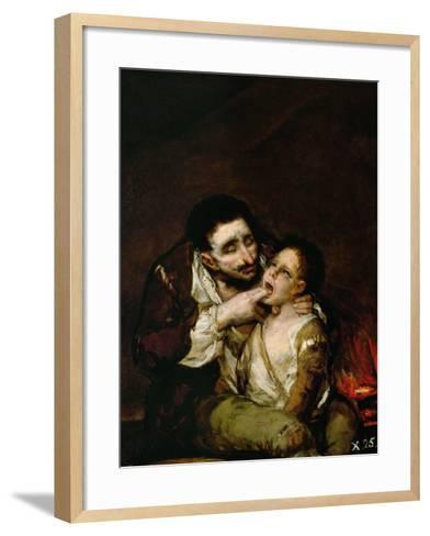 El Lazarillo De Tormes, 1808-1810-Suzanne Valadon-Framed Art Print
