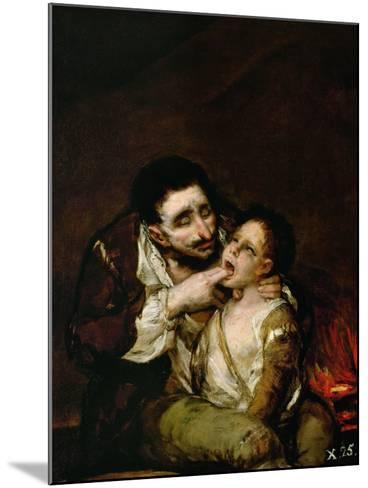 El Lazarillo De Tormes, 1808-1810-Suzanne Valadon-Mounted Giclee Print