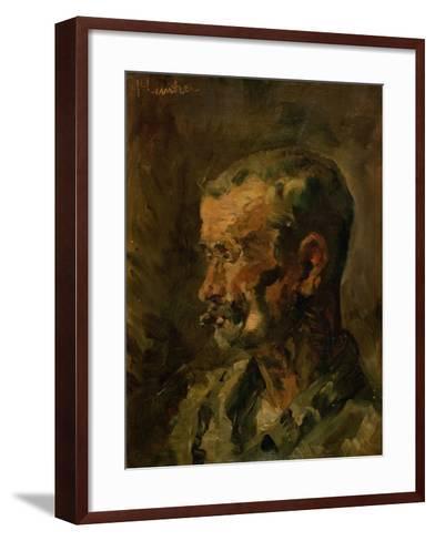 Vicomte Lepic, 1882-Henri de Toulouse-Lautrec-Framed Art Print