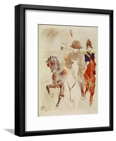 Napoleon I, Emperor-Henri de Toulouse-Lautrec-Framed Art Print