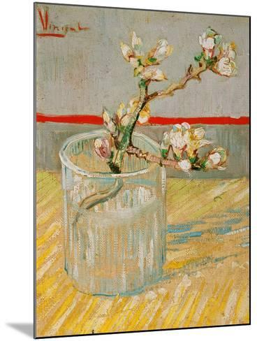 Blossoming Almond Branch in a Glass, c.1888-Vincent van Gogh-Mounted Giclee Print