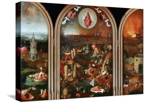 Last Judgement-Hieronymus Bosch-Stretched Canvas Print