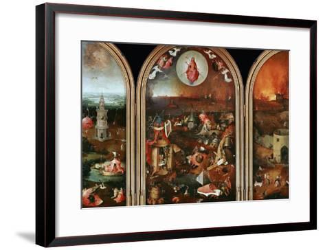 Last Judgement-Hieronymus Bosch-Framed Art Print