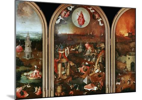 Last Judgement-Hieronymus Bosch-Mounted Giclee Print