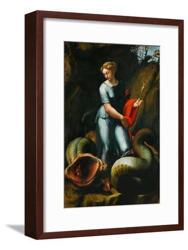 St. Margaret-Raphael-Framed Art Print
