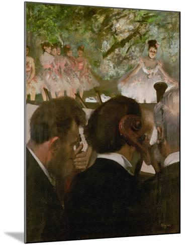 The Orchestra, 1870-1871 and 1874-1876-Edgar Degas-Mounted Giclee Print