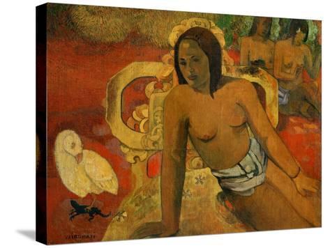 Vairumati, 1897-Paul Gauguin-Stretched Canvas Print