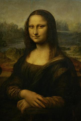 Mona Lisa, 1503-1506-Leonardo da Vinci-Stretched Canvas Print