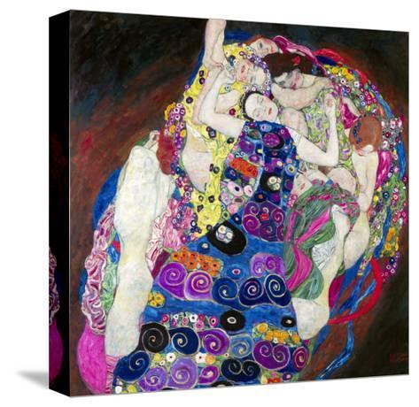The Virgin (Die Jungfrau)-Gustav Klimt-Stretched Canvas Print