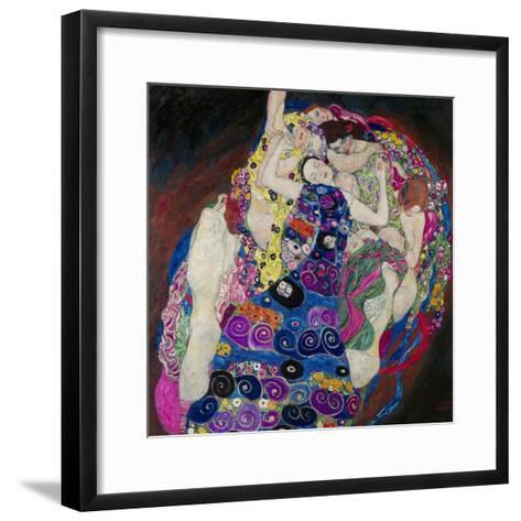 The Virgin (Die Jungfrau)-Gustav Klimt-Framed Art Print