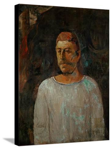 Self-Portrait, 1896-Paul Gauguin-Stretched Canvas Print