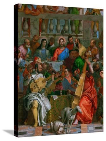 The Wedding at Cana-Paolo Veronese-Stretched Canvas Print