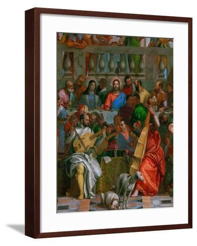 The Wedding at Cana-Paolo Veronese-Framed Art Print