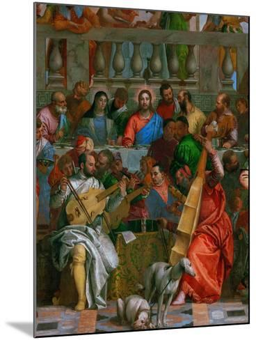The Wedding at Cana-Paolo Veronese-Mounted Giclee Print