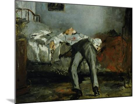 The Suicide-Edouard Manet-Mounted Giclee Print