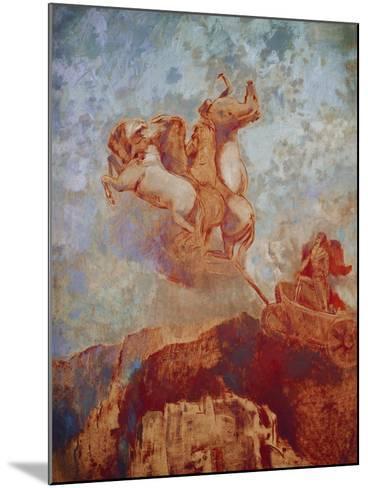 Chariot of Apollo, 1909-Odilon Redon-Mounted Giclee Print