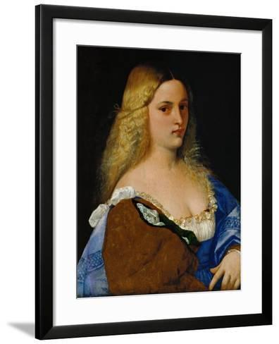 Violante-Titian (Tiziano Vecelli)-Framed Art Print