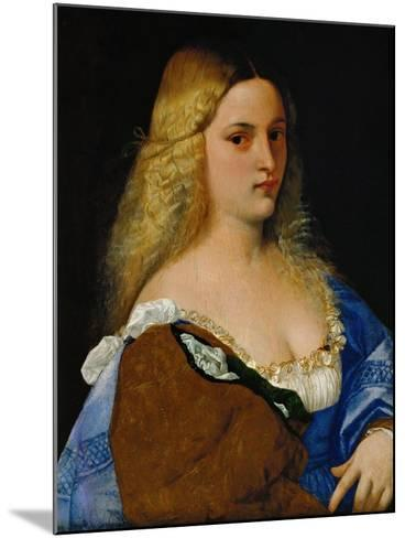 Violante-Titian (Tiziano Vecelli)-Mounted Giclee Print