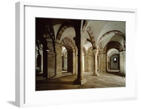 Crypt of Speyer Cathedral, Begun 1030 by Konrad II--Framed Art Print