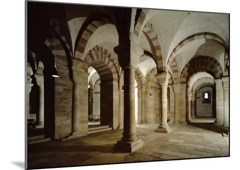 Crypt of Speyer Cathedral, Begun 1030 by Konrad II--Mounted Giclee Print