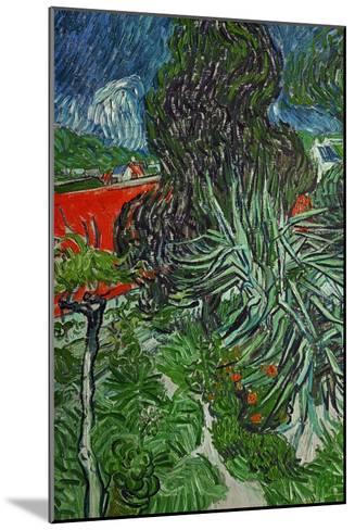 Dr. Paul Gachet's Garden at Auvers-Sur-Oise, c.1890-Vincent van Gogh-Mounted Giclee Print