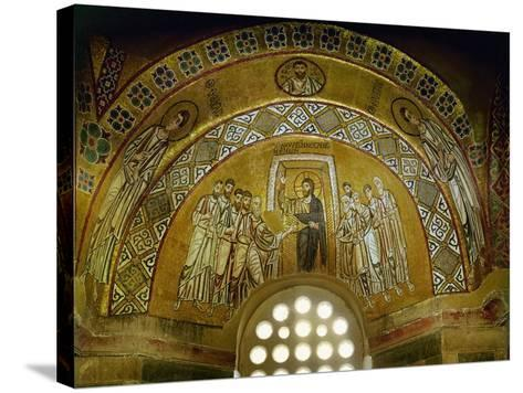 Doubting Thomas, Mosaic in the Narthex, 11th CE--Stretched Canvas Print