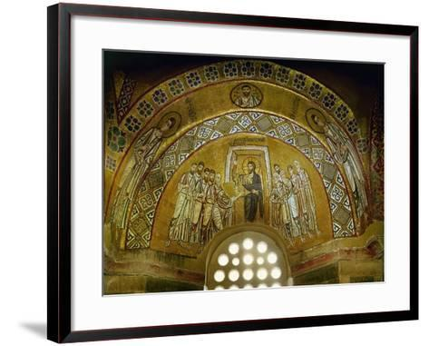 Doubting Thomas, Mosaic in the Narthex, 11th CE--Framed Art Print