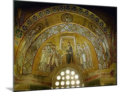 Doubting Thomas, Mosaic in the Narthex, 11th CE--Mounted Giclee Print