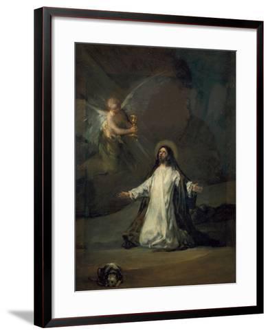 Christ in Gethsemane-Suzanne Valadon-Framed Art Print