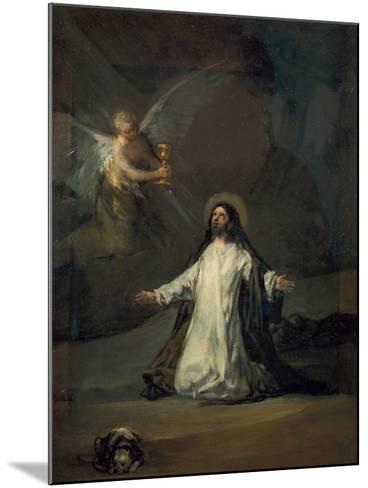 Christ in Gethsemane-Suzanne Valadon-Mounted Giclee Print