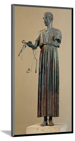 The Charioteer of Delphi, a Votive Offering from Polyzalos-Sotades-Mounted Giclee Print