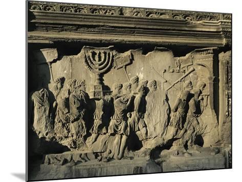 Arch of Titus on the Forum in Rome--Mounted Giclee Print
