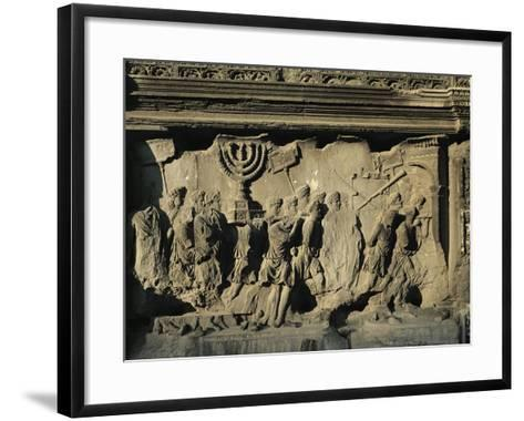 Arch of Titus on the Forum in Rome--Framed Art Print
