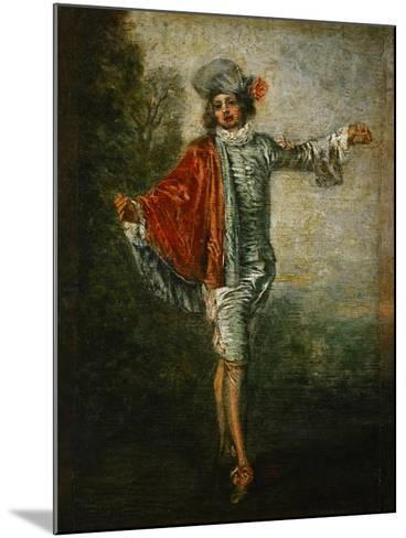 The Indifferent, circa 1717-Jean Antoine Watteau-Mounted Giclee Print