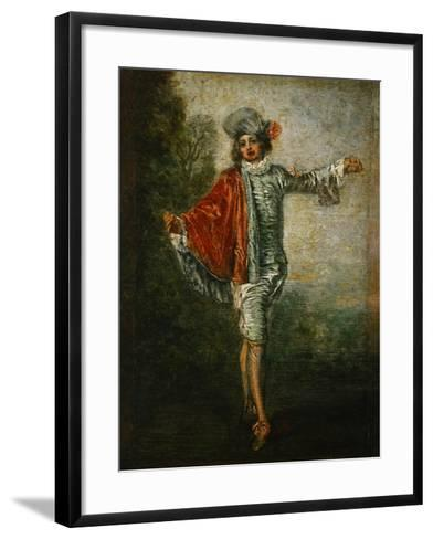 The Indifferent, circa 1717-Jean Antoine Watteau-Framed Art Print