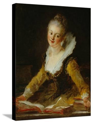 A Study (L'Etude)-Jean-Honor? Fragonard-Stretched Canvas Print