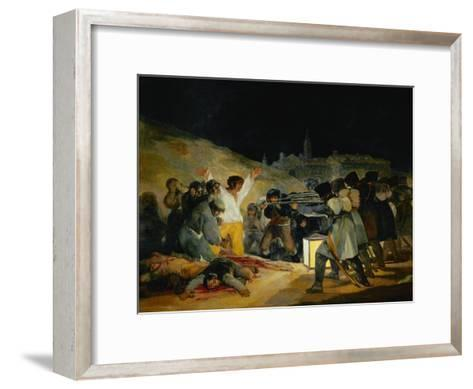 The Third of May, 1808, Painted in 1814-Suzanne Valadon-Framed Art Print