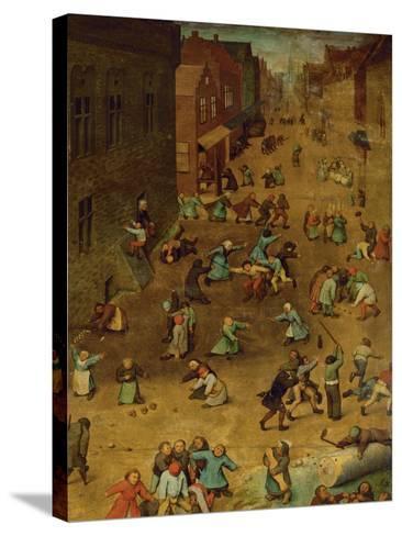 Children's Games-Pieter Bruegel the Elder-Stretched Canvas Print