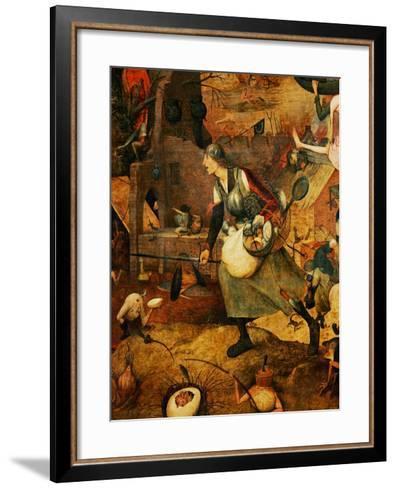Dulle Griet, 1562-1566-Pieter Bruegel the Elder-Framed Art Print