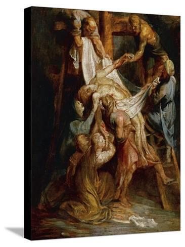 Descent from the Cross-Peter Paul Rubens-Stretched Canvas Print