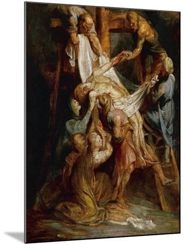 Descent from the Cross-Peter Paul Rubens-Mounted Giclee Print
