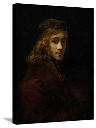Titus, Rembrandt's Son-Rembrandt van Rijn-Stretched Canvas Print