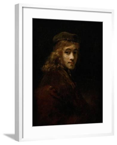 Titus, Rembrandt's Son-Rembrandt van Rijn-Framed Art Print